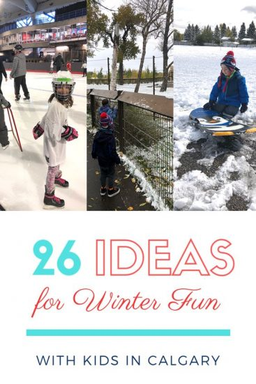 26 Ideas for Winter Fun with Kids in Calgary
