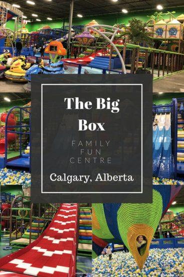 The Big Box Pinterest Graphic- Calgaryplaygroundreview.com
