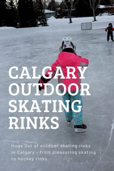Calgary Outdoor Skating Rinks