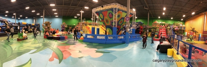 Panorama of the Big Box Indoor Playground
