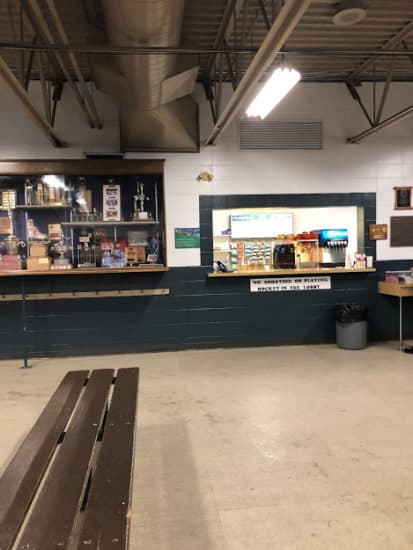 Concession at the Thorncliffe Greenview Arena