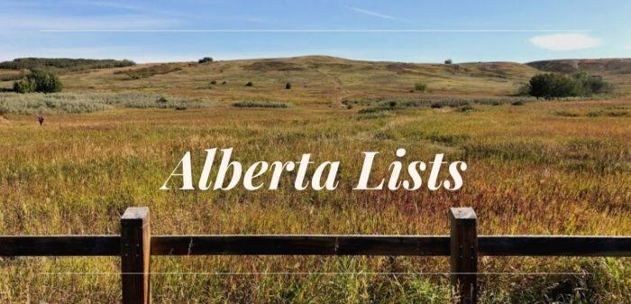 Alberta Lists